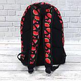 Яркий, стильный рюкзак с принтом Арбуз. Для путешествий, тренировок, учебы.  Рюкзак достаточно вместительный., фото 4