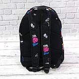 Стильный рюкзак с принтом Fresh Brains. Для путешествий, тренировок, учебы, фото 3