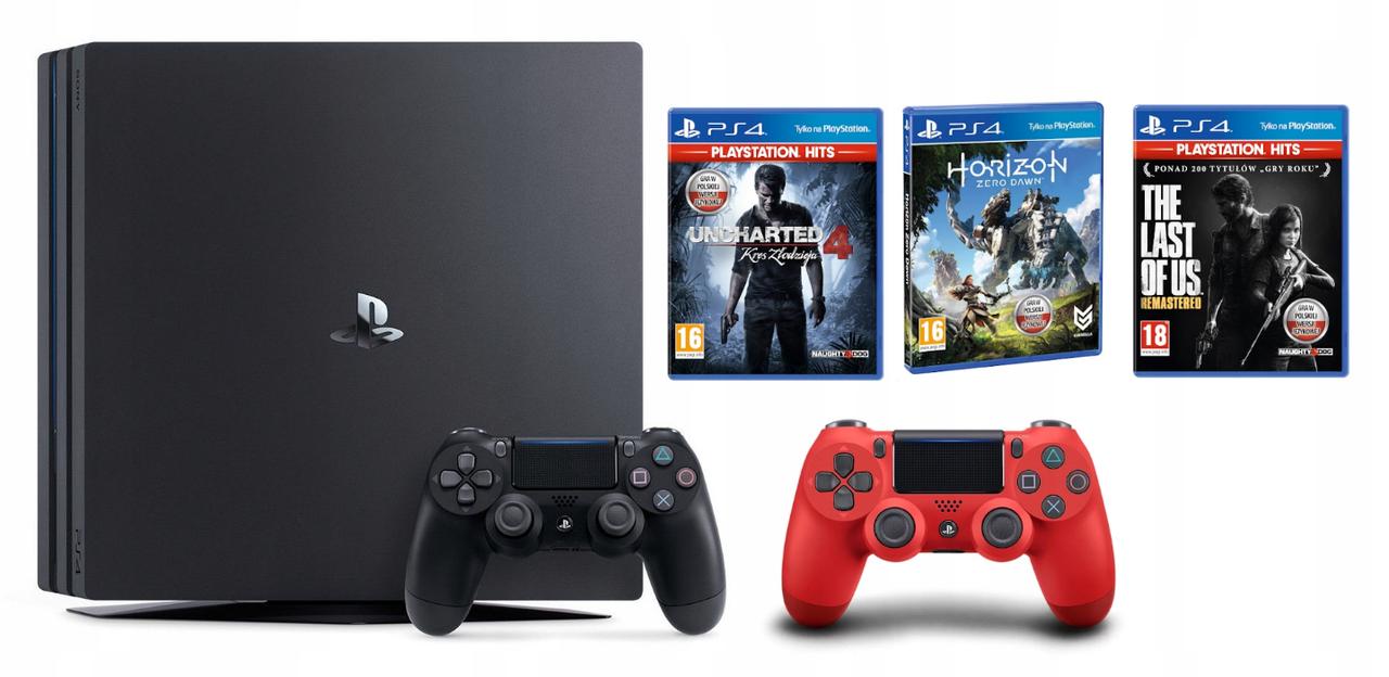 Игровая приставка Sony PlayStation 4 PRO 1000GB 1TB 4K HDR