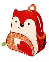 Детский рюкзак Skip Hop Zoo Pack (Zoo Little Kid Backpack) - Fox (Лисичка), 3+