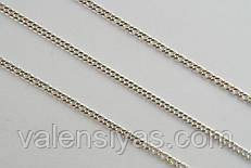Серебряная тонкая цепочка -  Ромбо