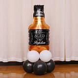 Фольгований куля пляшка Віскі 85х45 см 1666, фото 4