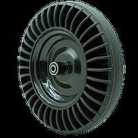 Колесо DW-SR 4*8 цільнолите металевий диск на підшипнику