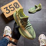 Жіночі Кросівки Adidas Yeezy Boost 350 v2 Yeеzreel Reflective, фото 3