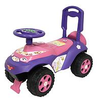 Детская машина толокар для катания.Каталка толокар с музыкальным рулем.