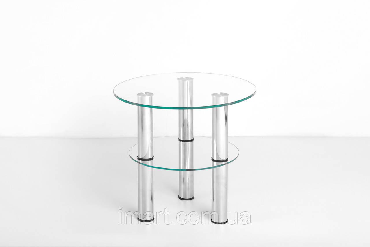Журнальный стол Ремарк стеклянный