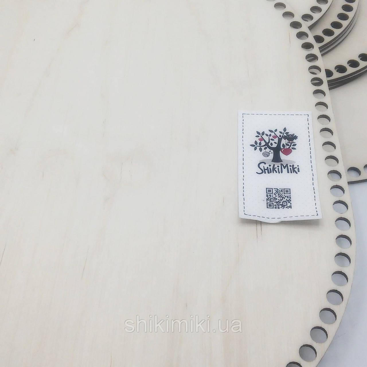 Заготовка из фанеры овальная (30 * 41,5 см)