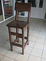 Деревянные садовые стулья, барные стулья для кафе 450х370 от производителя для дачи, кафе  Wooden chair - 02