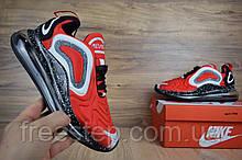 Чоловічі кросівки в стилі Nike Air Max 720, червоні