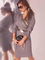 Платье со стильным орнаментом. Женская одежда