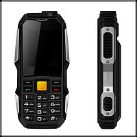Защищенный Мобильный телефон Rover F88 чёрный Аккумулятор 3800mA! Водоустойчив на английском языке, фото 1