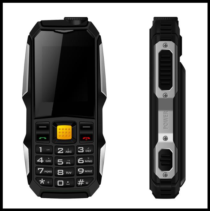 Защищенный Мобильный телефон Rover F88 чёрный Аккумулятор 3800mA! Водоустойчив на английском языке