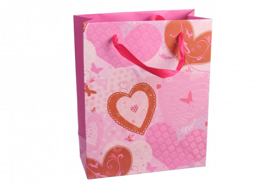 Подарочные пакеты S арт 009