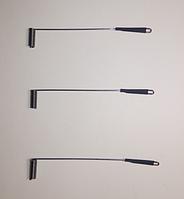 Рыболовный боковой отвод с термокембриком 60 мм СТАЛЬ