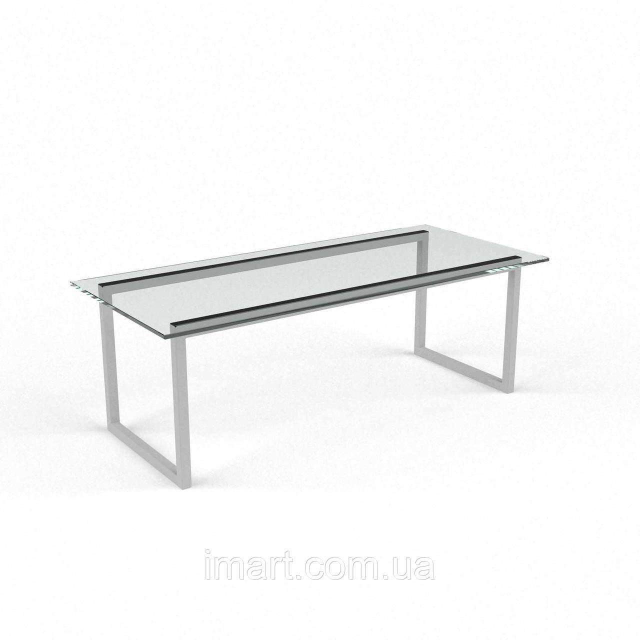 Журнальный стол Атика стеклянный