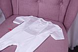 Нарядный комплект для новорожденного мальчика Фрак New белый, фото 6