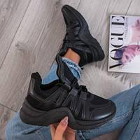 Черные женские кроссовки 36 37 38 39 41
