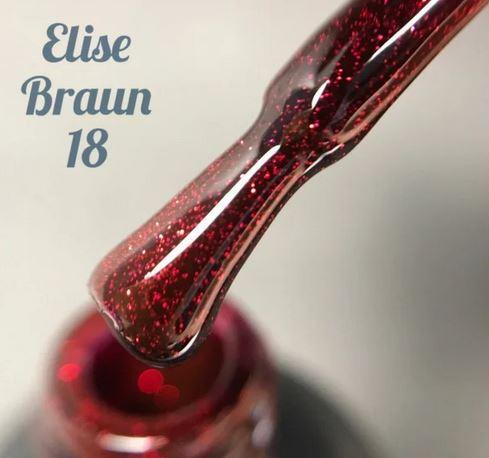 Гель-лак Elise Braun 15 мл, № 18
