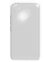 Силиконовый чехол для Motorola Moto Z белый прозрачный