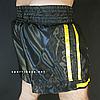 """Шорты для тайского бокса """"BLACK-YELLOW"""", фото 4"""