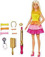 Ігровий набір Barbie Ultimate Curls Барбі розкішні локони / набір перукаря