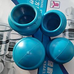 Банку резинова масажна середня синя