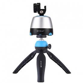 Комплект для панорамної зйомки Puluz: штатив + панорамна головка + пульт управління