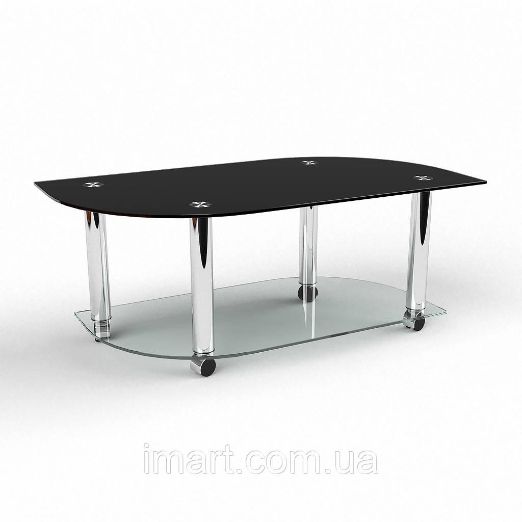 Журнальный стол Бергамо стеклянный