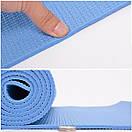 Yoga mat PVC 4 мм, фото 2