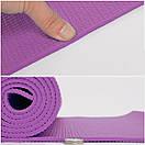 Yoga mat PVC 4 мм, фото 5