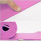 Yoga mat PVC 4 мм, фото 7