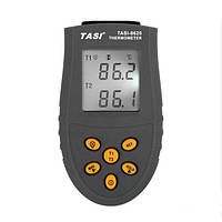 Электронный термометр TASI-8620  -50 - 1350С с двумя датчиками температуры термопарами К-типа -50 - 400С , фото 1