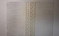 Уголок пластиковый перфорованный универсальный с сеткой 10х10см