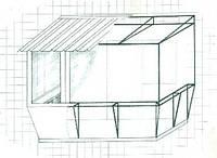 Вынос балконов, утепление, увеличение балкона. Построить балкон в Херсоне. Остекление балкона в Херсоне., фото 1