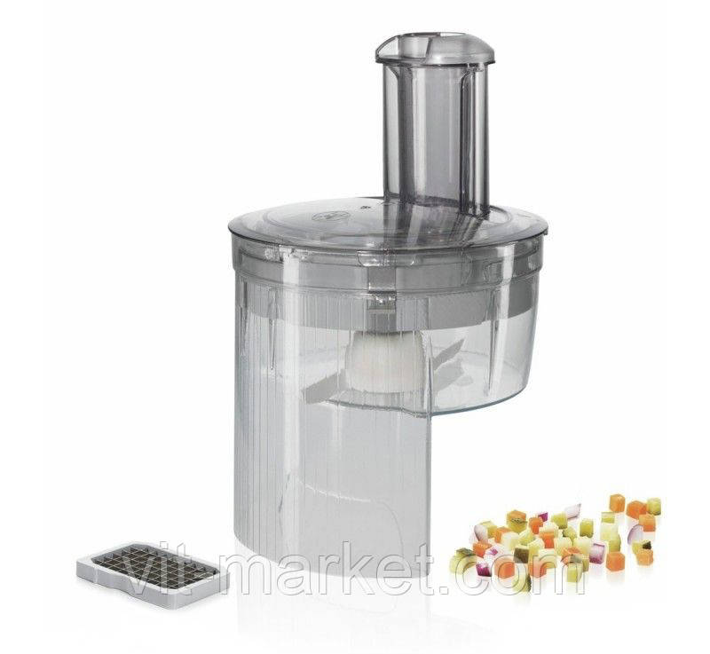 Оригинал. Насадка для нарезки кубиками MUZ5CC2 для кухонного комбайна Bosch код 577340
