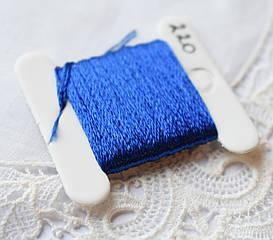 Мулине имитация шелка, 4м, 6 сложений, темно синий
