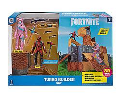 Набір фігурок Fortnite Кролик Рейдер і Вертекс Fortnite Turbo Builder Set Rabbit Raider & Vertex Jazwares
