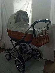 Детская коляска универсальная 2 в 1 Roan Marita Z6 (12 дюймов) (Роан Марита, Польша)