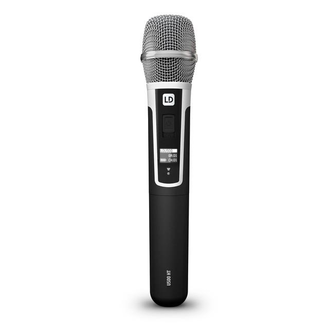 адиосистема с конденсаторным ручным микрофоном LD Systems U500HHC