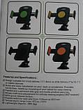 """Автокомплект для планшета.Адаптер для зарядки microUSB і утримувач ZYZ-139 7""""-11"""", фото 2"""