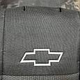 """Чехлы на сиденья Chevrolet Lacetti (седан) 2003- / автомобильные чехлы Шевроле Лачетти """"Prestige"""" стандарт, фото 3"""