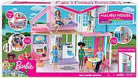Набор Barbie Барби Домик в Малибу Malibu House оригинал FXG57, фото 1