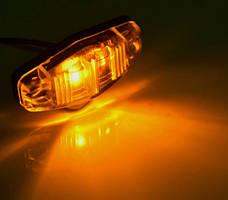 Ліхтар габаритний жовтий для вантажівок (8856DB), фото 2