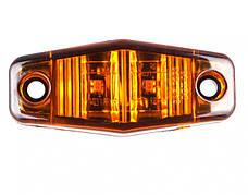 Ліхтар габаритний жовтий для вантажівок (8856DB), фото 3