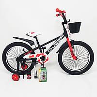 Велосипед детский для мальчика Hammer D-JEEP 20 дюймов черный