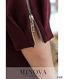 Модне замшеве сукню 48-56рр. (2 кольори), фото 8
