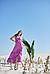 Длинный женский сарафан, Ora 20012/2, фото 6