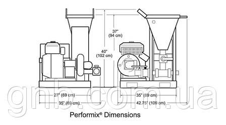 Змішувальний вузол для бентонітового розчину PERFORMIX® MIXER без змішувальних ємностей, фото 2
