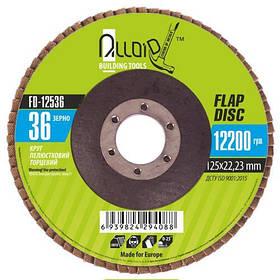 Круг лепестковый торцевой Alloid FD-12536