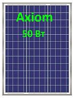Солнечная панель 50Вт АХ-50Р-36 5ВВ Axioma